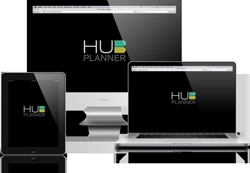 Responsive_Hub_Planner