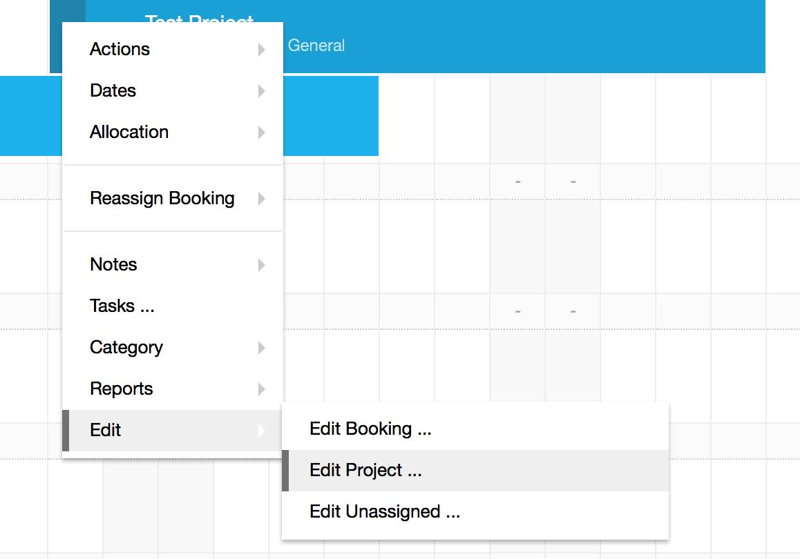 Hub Planner - Edit Project