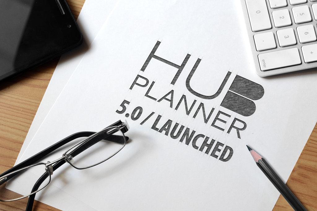 Hub Planner 5.0 Released