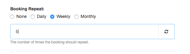 Hub Planner-Repeat Booking