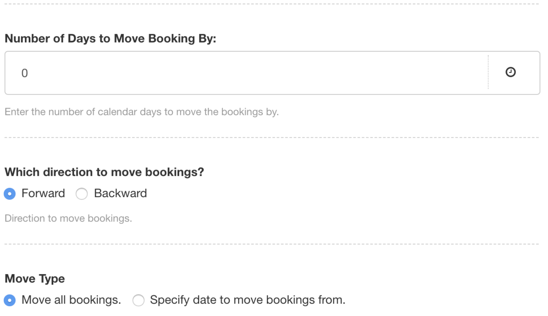 Resolve Reallocation Resources Bookings Projects Bulk Move
