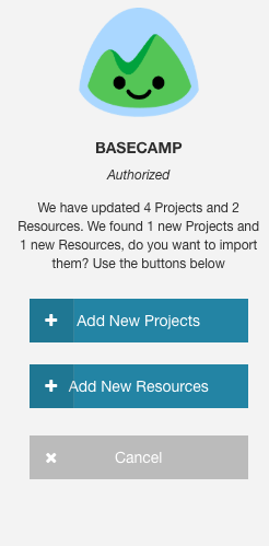 Basecamp Inline Integration