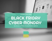Black Friday Cyber Monday