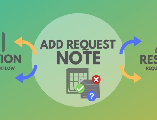 Add Notes to Resource Request and Approval Workflow