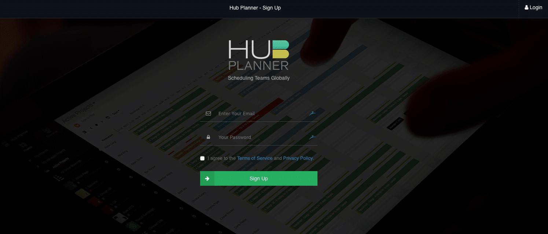 Hub_Planner_Sign_Up