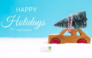 Happy Holidays from Hub Planner
