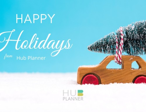 Happy Holidays from Hub Planner !