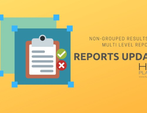 Reports Update – Non Grouped Results & Multi Level Reporting