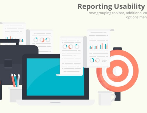 New Report Toolbar for Hub Planner Reporting